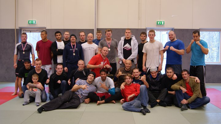 Gruppe Billede fra Grappling Liga finale 2010