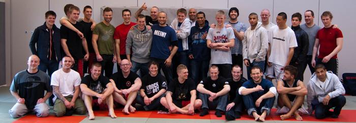 CheckMat Gruppe Billede Dansk Grappling Liga Anden Runde 2011