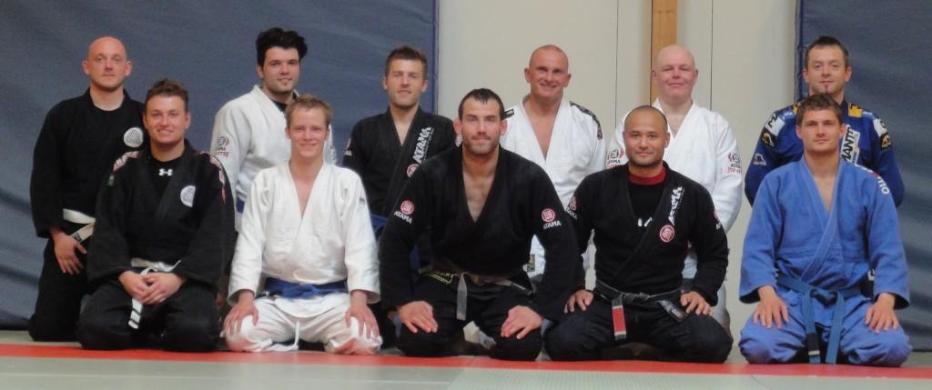Joachim og Shimon Holder Brazilian Jiu Jitsu Seminar hos Odense BJJ
