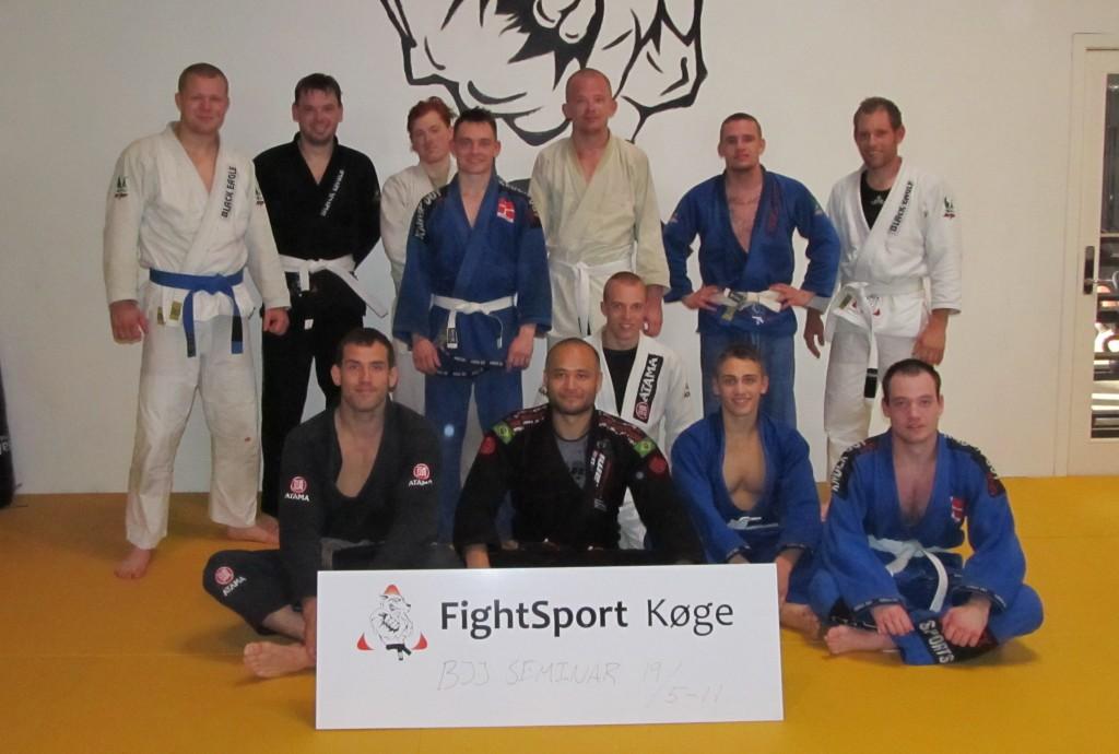 Fightsport Køge gruppe billede