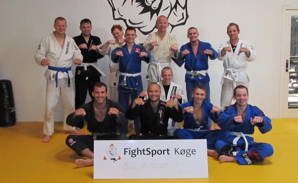 TrueDane gruppe billede køge fightsport