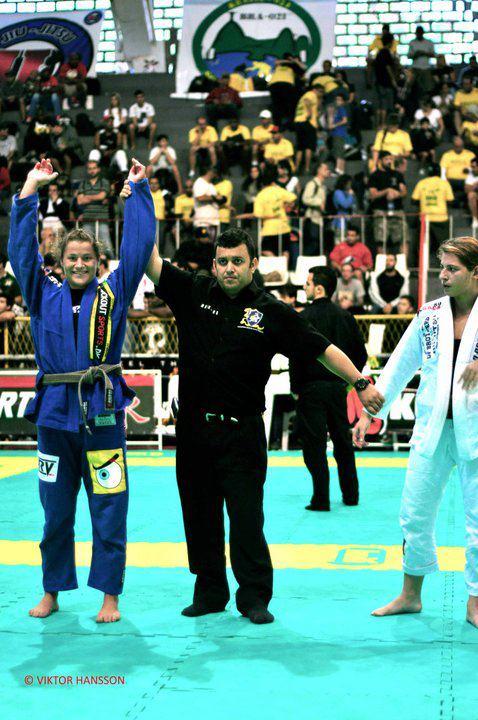 Ida vinder en kamp i Rio Open