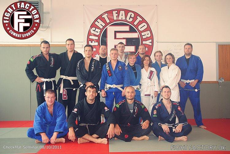 Seminar i Roskilde Fight Factory
