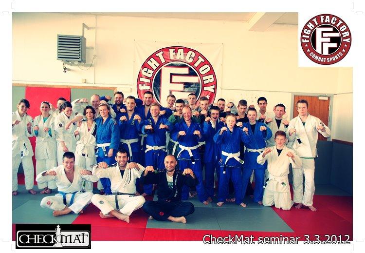 Brazilian Jiu Jitsu Seminar hos Roskilde Fight Factory