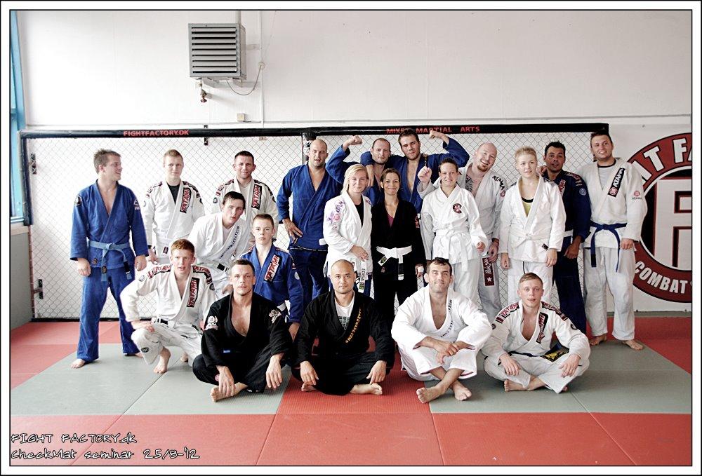 Gruppe billede Roskilde Fight Factory