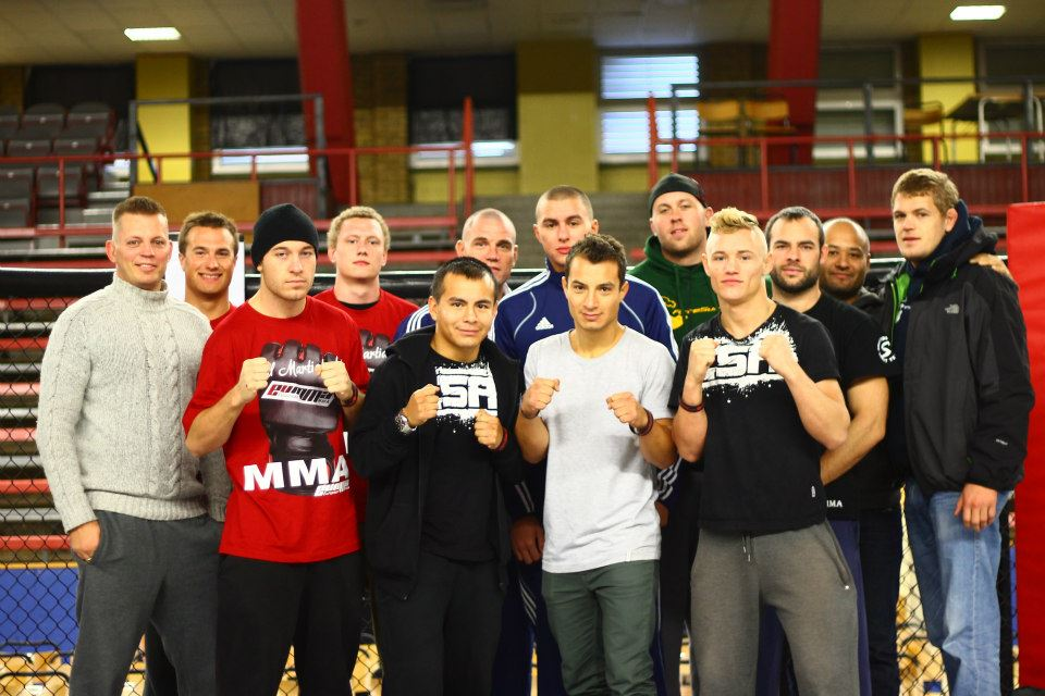 Nick Barnø til Fighters Source Championships