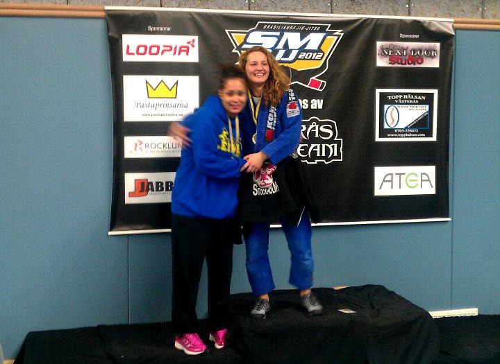 Janni vinder de svenske mesterskaber i BJJ