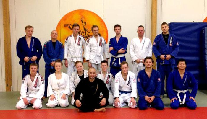 BJJ seminar hos Kodokan Odense
