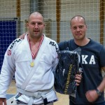 Troels Sigvardt Winner of the White Belt Open Class Master