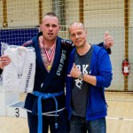 Nick Barnø Winner of the Blue Belt Open Class Adult