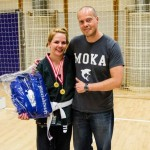 Emma Svärdh Winner of the White Belt Female Open Class Adult