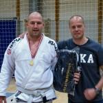 Troels Sigvardt Winner of the White Belt Open Class Master