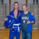 Mikkel Højer Winner og the White Belt Open Class Adult